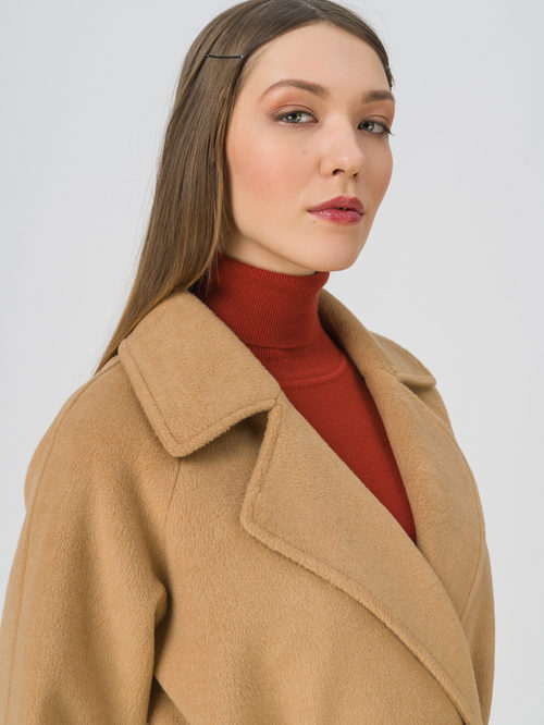 Текстильное пальто артикул 01711450/40 - фото 3