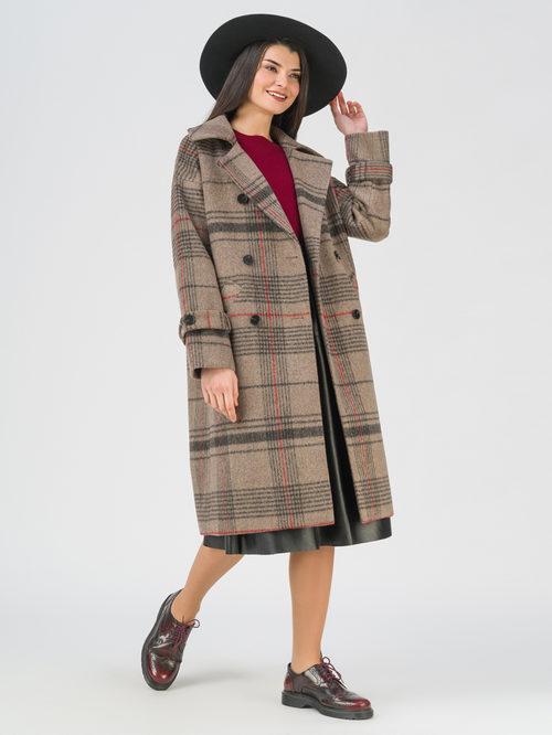 Текстильное пальто артикул 01711453/40 - фото 2
