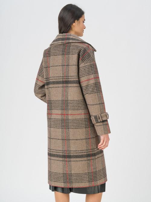 Текстильное пальто артикул 01711453/40 - фото 4