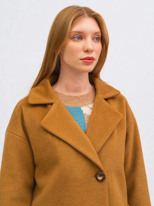Текстильное пальто артикул 01711750/40 - фото 2