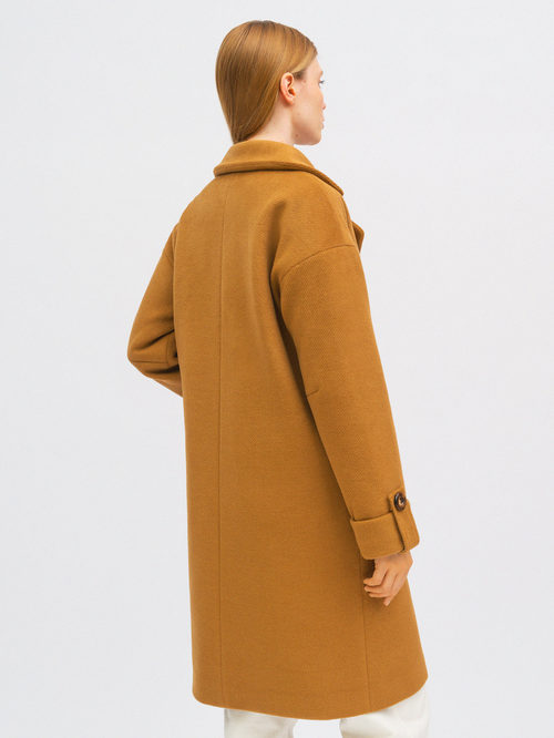 Текстильное пальто артикул 01711750/40 - фото 5