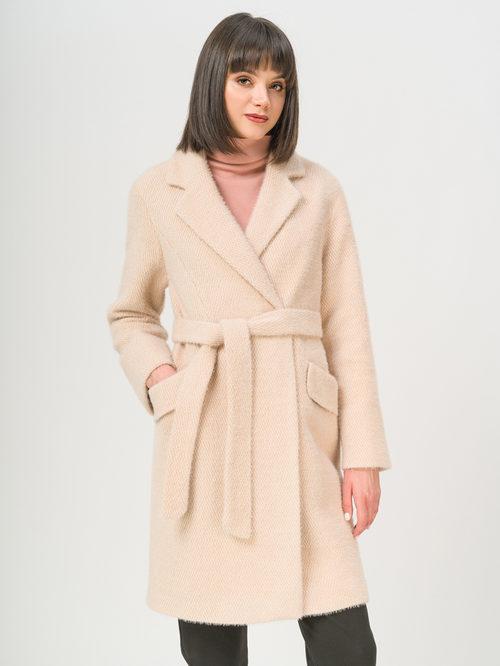 Текстильное пальто артикул 01809282/46 - фото 2