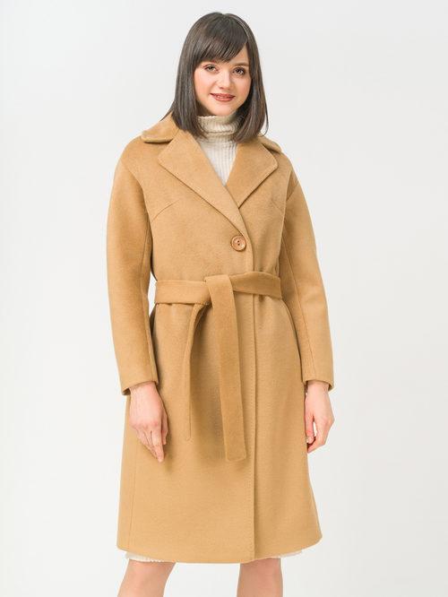 Текстильное пальто артикул 01809318/42 - фото 2