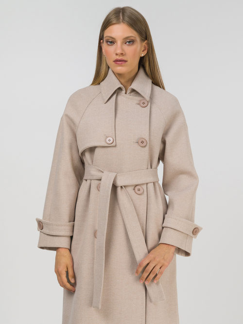 Текстильное пальто артикул 01809320/50 - фото 2