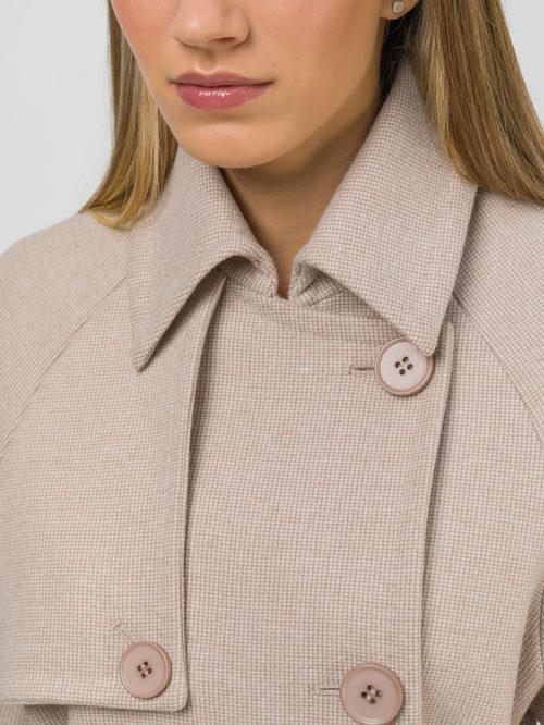 Текстильное пальто артикул 01809320/50 - фото 3
