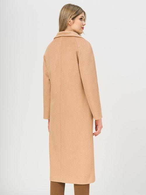 Текстильное пальто артикул 01809970/50 - фото 3