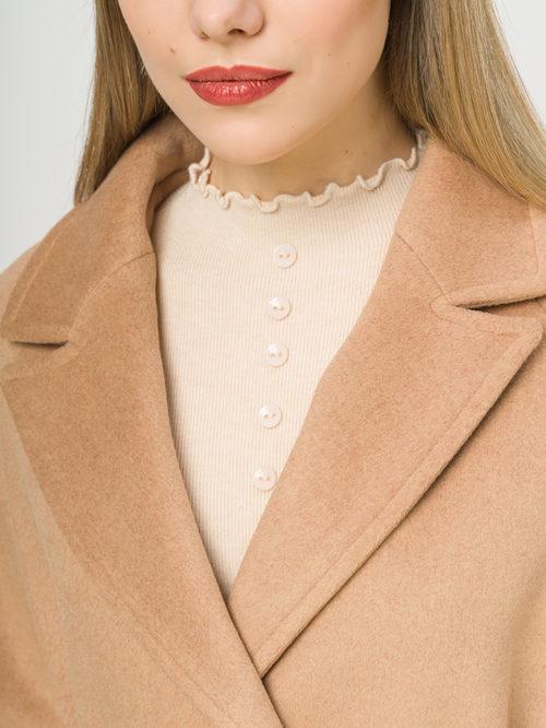Текстильное пальто артикул 01809970/50 - фото 4
