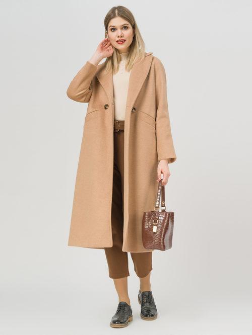 Текстильное пальто артикул 01809970/50