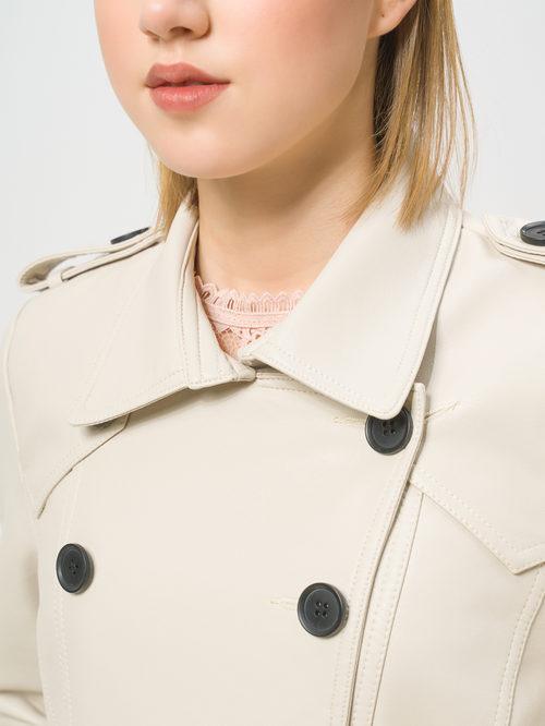 Кожаная куртка артикул 01810071/40 - фото 4