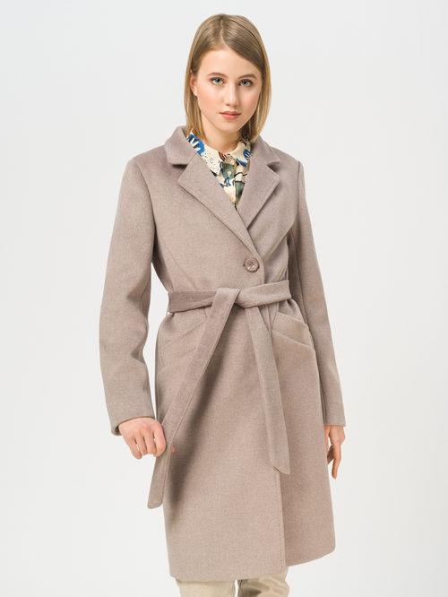 Текстильное пальто артикул 01810091/42 - фото 2