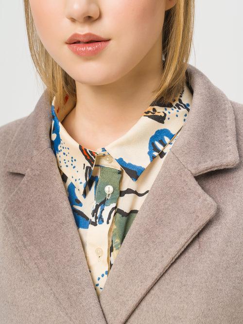 Текстильное пальто артикул 01810091/42 - фото 4