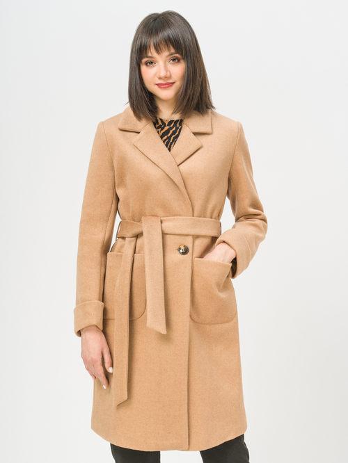Текстильное пальто артикул 01810114/42 - фото 2