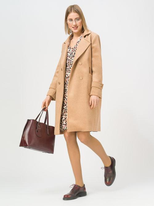 Текстильное пальто артикул 01810117/40 - фото 2