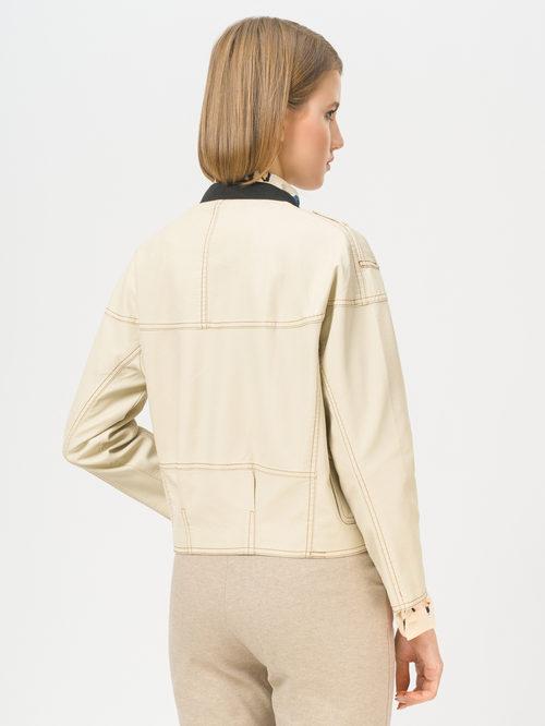 Кожаная куртка артикул 01810125/40 - фото 3