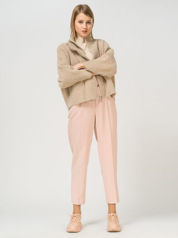 Текстильная куртка 100% полиэстер, цвет бежевый, арт. 01810132  - цена 5590 руб.  - магазин TOTOGROUP