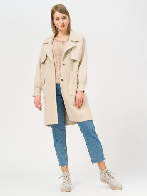 Текстильное пальто артикул 01810180/44 - фото 2
