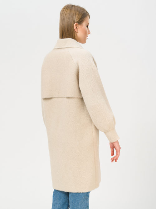 Текстильное пальто артикул 01810180/44 - фото 3