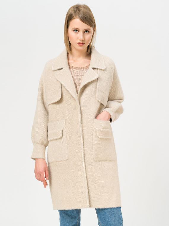 Текстильное пальто , цвет бежевый, арт. 01810180  - цена 5290 руб.  - магазин TOTOGROUP