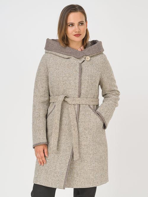Текстильное пальто артикул 01810667/50 - фото 3