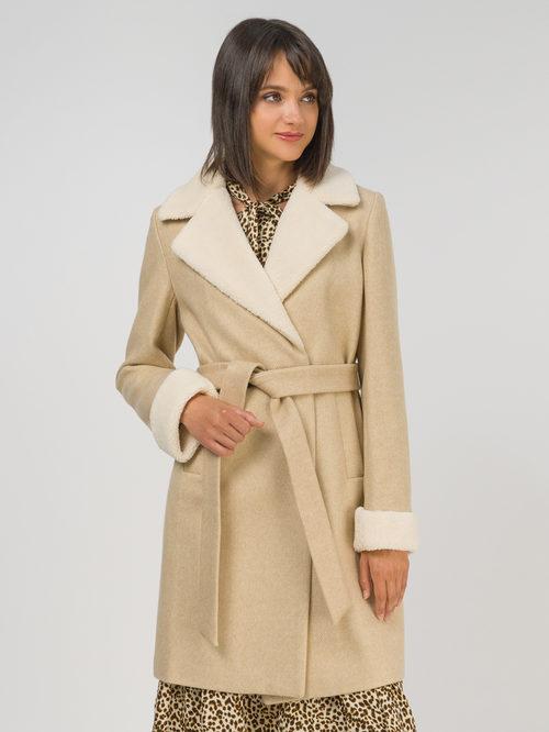 Текстильное пальто артикул 01810721/42 - фото 2