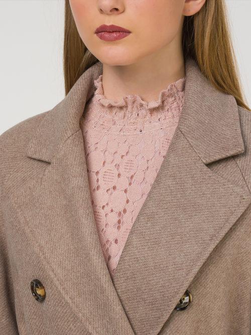 Текстильное пальто артикул 01810724/40 - фото 3
