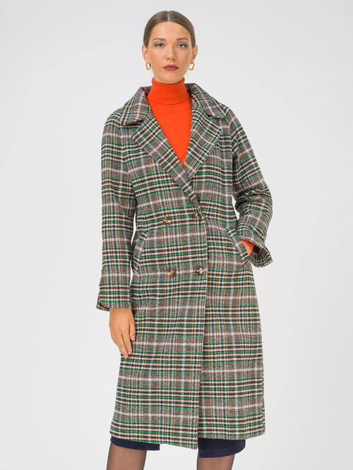 Текстильное пальто артикул 01810744/44 - фото 2