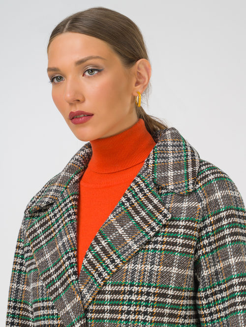 Текстильное пальто артикул 01810744/44 - фото 3
