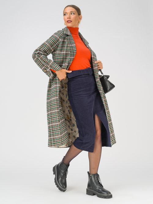 Текстильное пальто артикул 01810744/44