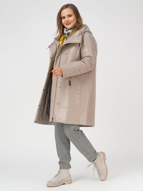 Кожаное пальто артикул 01810865/48