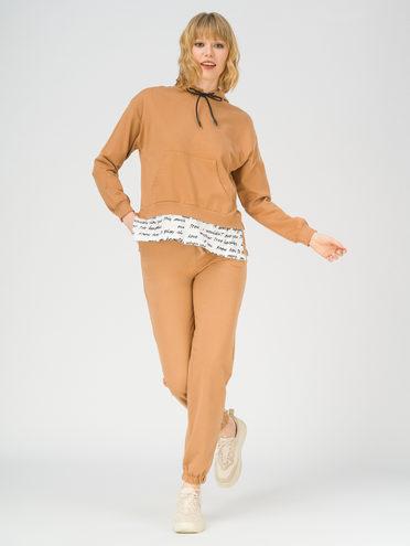 Трикотажный костюм 100% хлопок, цвет бежевый, арт. 01811254  - цена 3590 руб.  - магазин TOTOGROUP