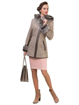 Дубленка дуб. овчина, цвет бежевый, арт. 01900618  - цена 28490 руб.  - магазин TOTOGROUP