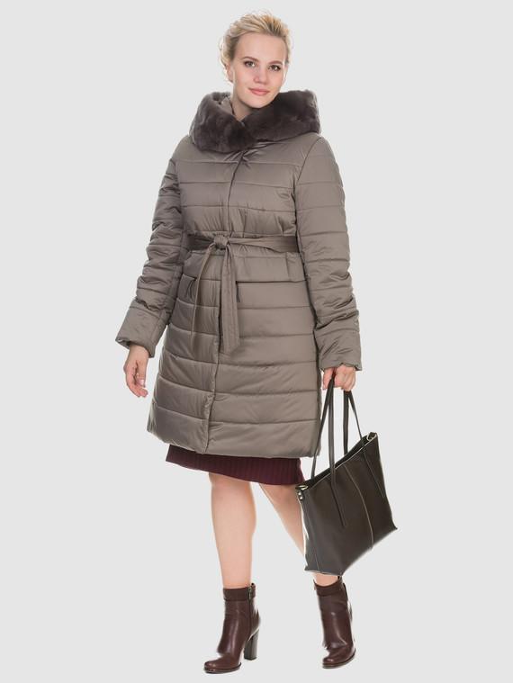 Пуховик текстиль, цвет бежевый, арт. 01902892  - цена 6990 руб.  - магазин TOTOGROUP