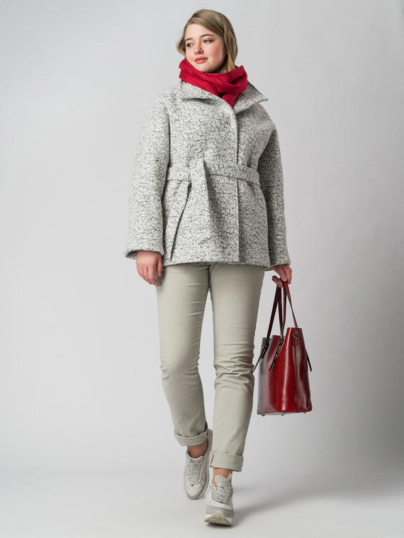Текстильная куртка 50%шерсть, 50% п/а, цвет белый, арт. 02005652  - цена 3590 руб.  - магазин TOTOGROUP