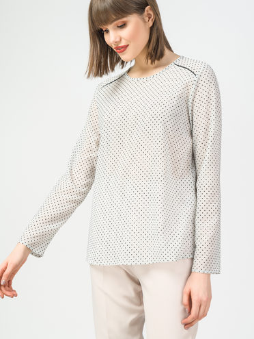 Блуза 100% полиэстер, цвет белый, арт. 02108325  - цена 1260 руб.  - магазин TOTOGROUP