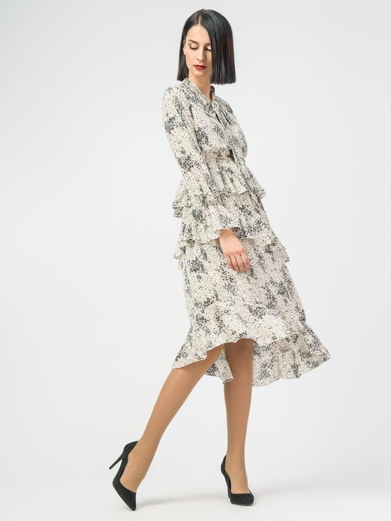 Платье 100% вискоза, цвет белый, арт. 02108410  - цена 2290 руб.  - магазин TOTOGROUP