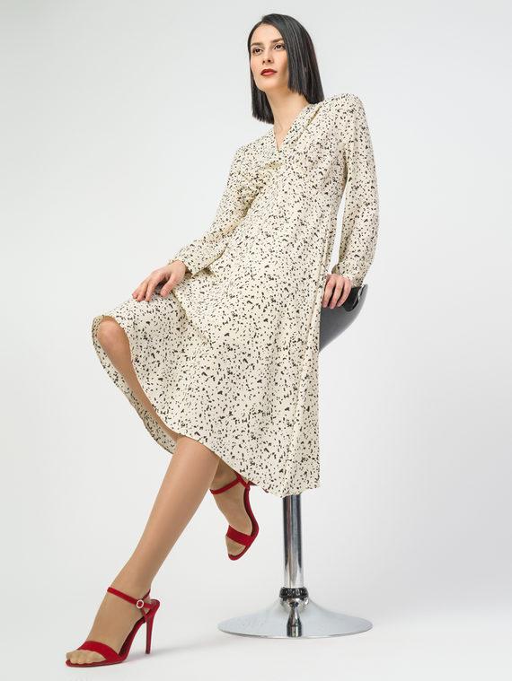 Платье 100% полиэстер, цвет белый, арт. 02108411  - цена 1570 руб.  - магазин TOTOGROUP
