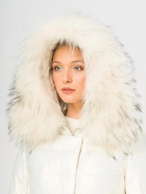 Кожаное пальто артикул 02109241/42 - фото 4