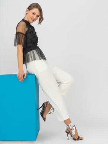 Брюки женские 95% полиэстер 5% эластан, цвет белый, арт. 02711718  - цена 1490 руб.  - магазин TOTOGROUP