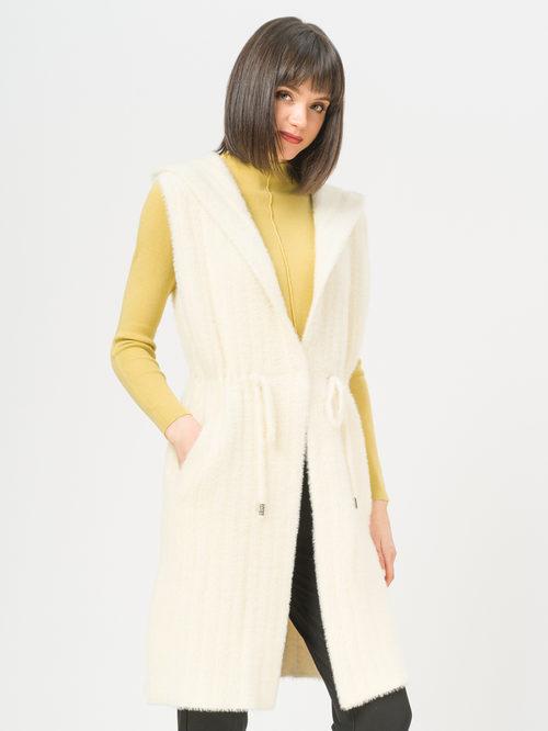 Текстильное пальто артикул 02810135/44 - фото 2