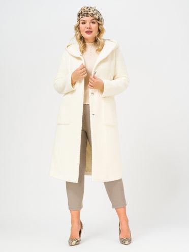 Текстильное пальто , цвет белый, арт. 02810137  - цена 6990 руб.  - магазин TOTOGROUP