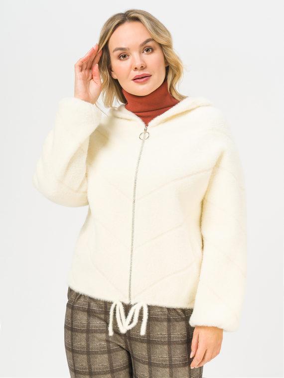 Текстильная куртка 100% полиэстер, цвет белый, арт. 02810263  - цена 3990 руб.  - магазин TOTOGROUP