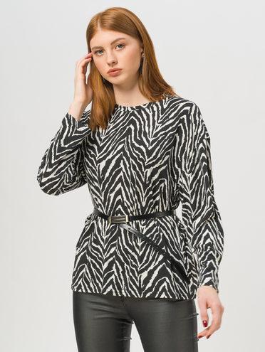 Блуза 95% полиэстер 5% эластан, цвет белый, арт. 02810402  - цена 1750 руб.  - магазин TOTOGROUP
