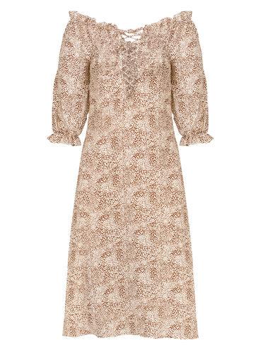 Платье 100% полиэстер, цвет белый, арт. 02810553  - цена 990 руб.  - магазин TOTOGROUP
