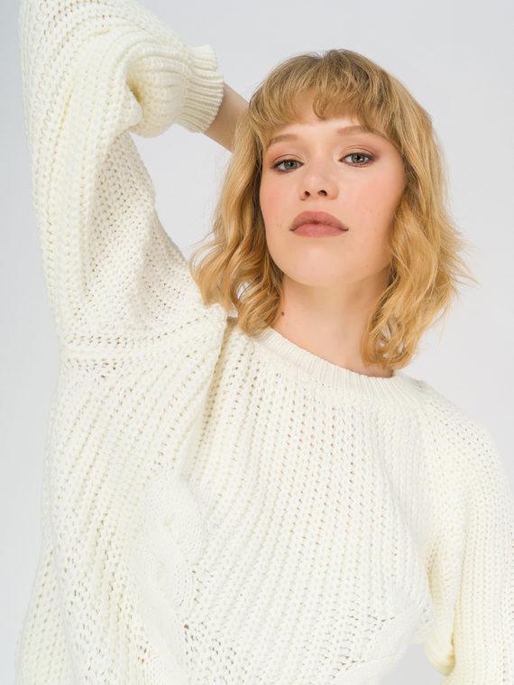 Джемпер , цвет белый, арт. 02811143  - цена 2290 руб.  - магазин TOTOGROUP