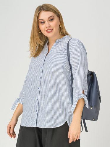 Блуза 100% хлопок, цвет белый, арт. 02811176  - цена 990 руб.  - магазин TOTOGROUP