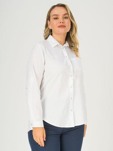 Блуза 100% хлопок, цвет белый, арт. 02811177  - цена 940 руб.  - магазин TOTOGROUP
