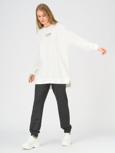 Трикотажный костюм 100% хлопок, цвет белый, арт. 02811255  - цена 1750 руб.  - магазин TOTOGROUP