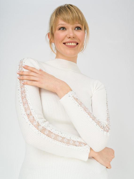 Джемпер 97%полиэстер, 3%эластан, цвет белый, арт. 02811300  - цена 1850 руб.  - магазин TOTOGROUP