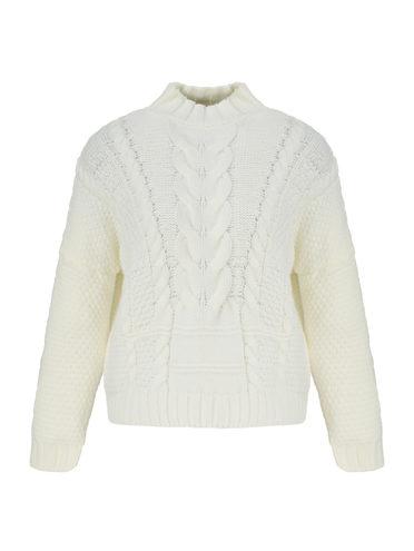 Джемпер 65% акрил, 35% полиамид, цвет белый, арт. 02811330  - цена 1490 руб.  - магазин TOTOGROUP
