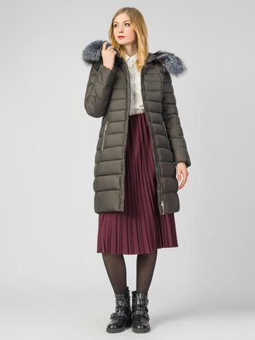 Пуховик текстиль, цвет болотный, арт. 03006252  - цена 8990 руб.  - магазин TOTOGROUP